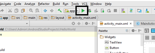 Introduction to Android Studio – 2 – Android Tutorials